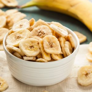 Banana Chips en rodajas x 100 grs.