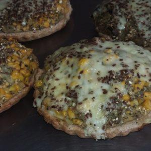 Tarta Integral de Choclo y queso mediana
